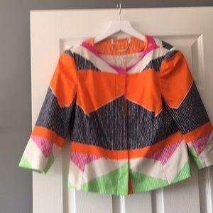 Multi Colored Suit Jacket